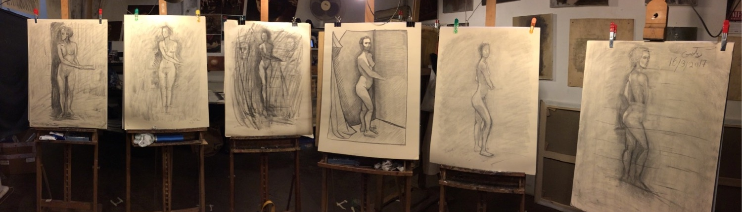 Figure Drawing - Feb 7